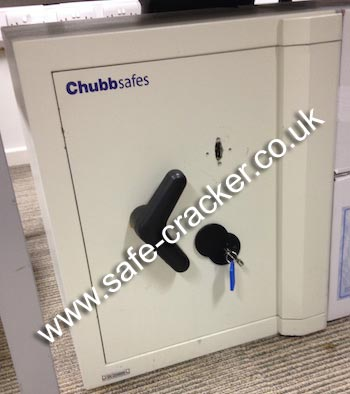 Chubb Cobra Elite Safe Opening