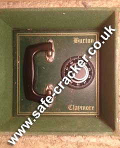 Burton Claymore Under Floor Safe