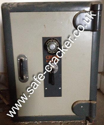 Chubb Combination Lock Safe Opening