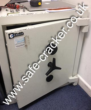 Chubb Euro Safe Lost Combination