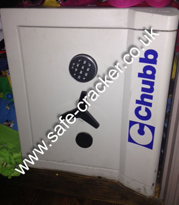 Chubb Locked Safe Opening Service