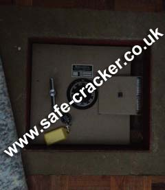 underfloor safe under floor
